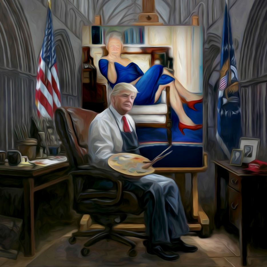 """Check out the rest of the entries in the contest page <a href=""""https://www.ebaumsworld.com/contests/photoshop-contest-129-trumps-presidential-painting/86082504/submissions/newest/""""><b>HERE</b></a>."""