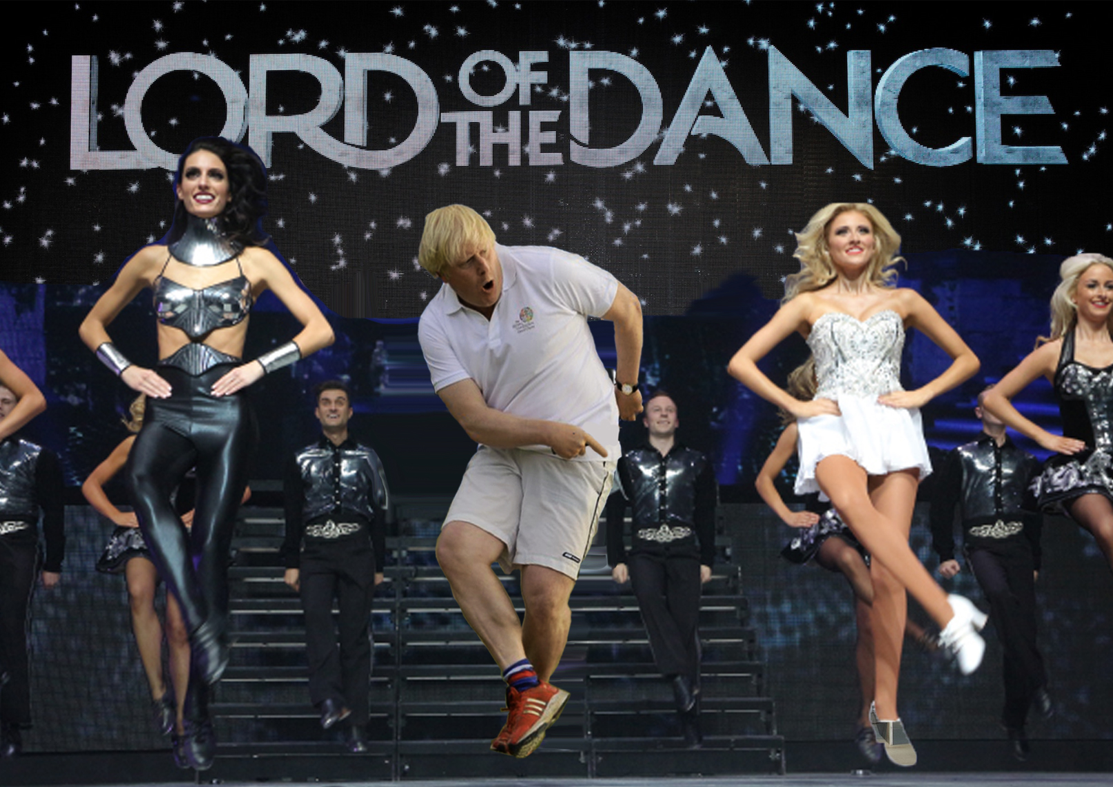 Boris Step Dancing