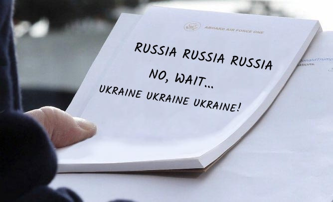 Take your pick: 'Russia Russia' or 'Ukraine Ukraine'... which is convenient TODAY?