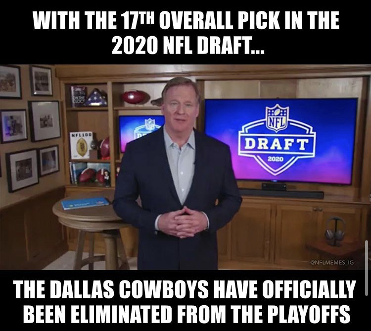 27 Nfl Draft Memes And Reactions To Football S 2nd Biggest Night