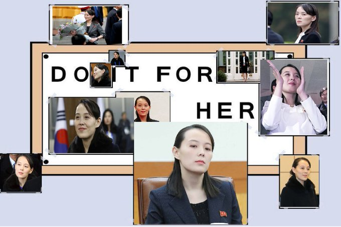 Kim Jong Un S Hot Sister Is North Korea S Next Meme Funny Gallery