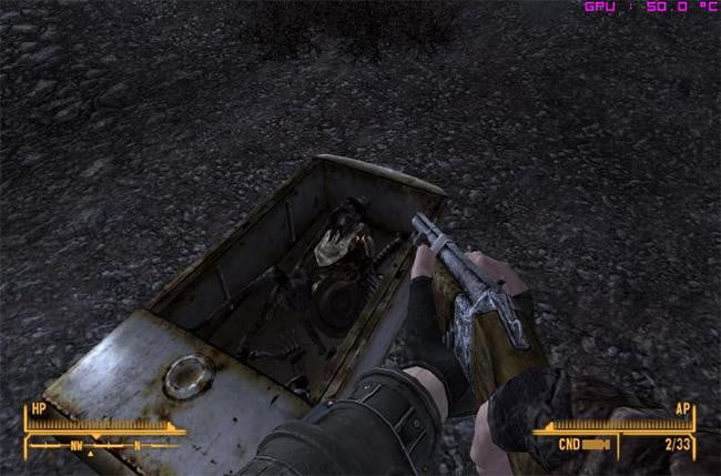 video game easter eggs - Fallout: New Indy