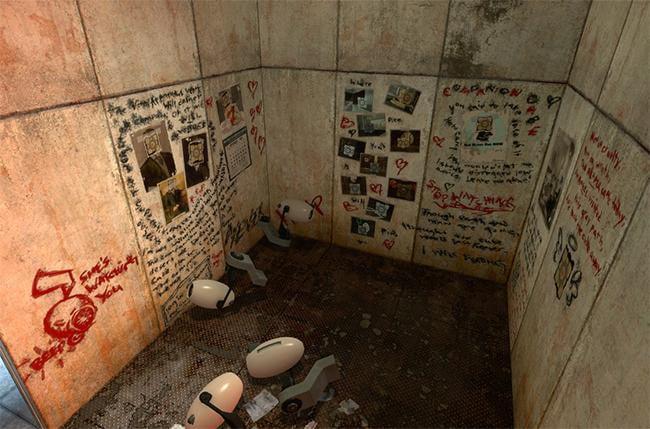 video game easter eggs - Portal 2 Prisoner