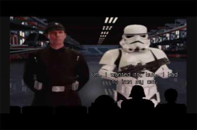 video game easter eggs - Mystery Star Wars Theater 3000