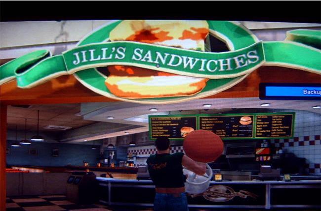 video game easter eggs - Return of the Jill Sandwich