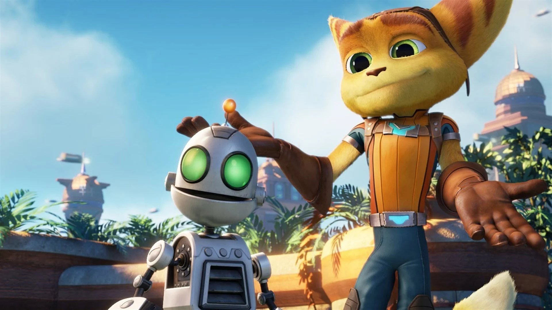bestest best friends in gaming - RATCHET & CLANK