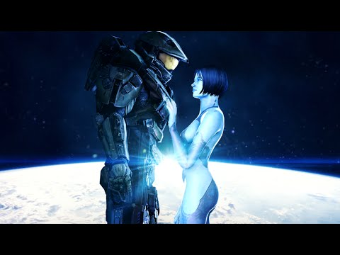 bestest best friends in gaming - MASTER CHIEF & CORTANA
