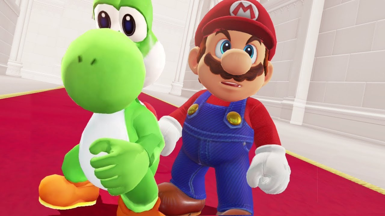 bestest best friends in gaming - MARIO & YOSHI