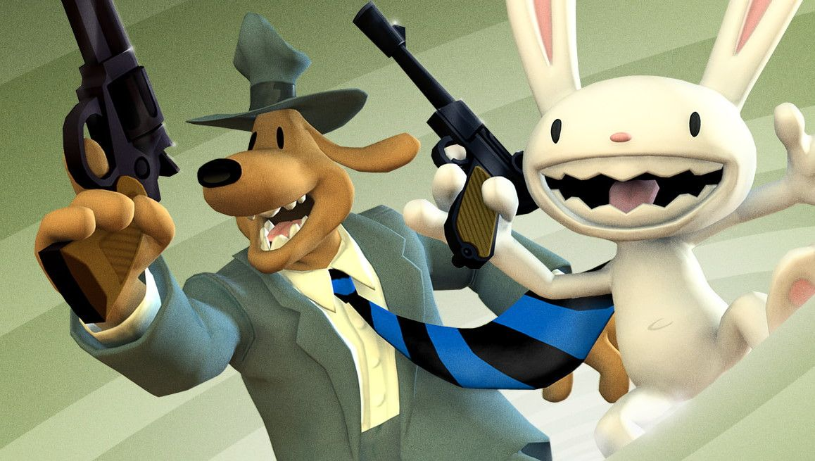 bestest best friends in gaming - SAM & MAX