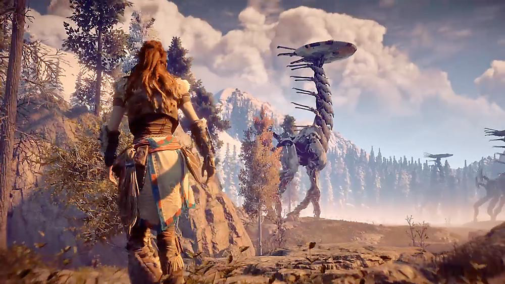 games that deserve movies and shows - HORIZON ZERO DAWN