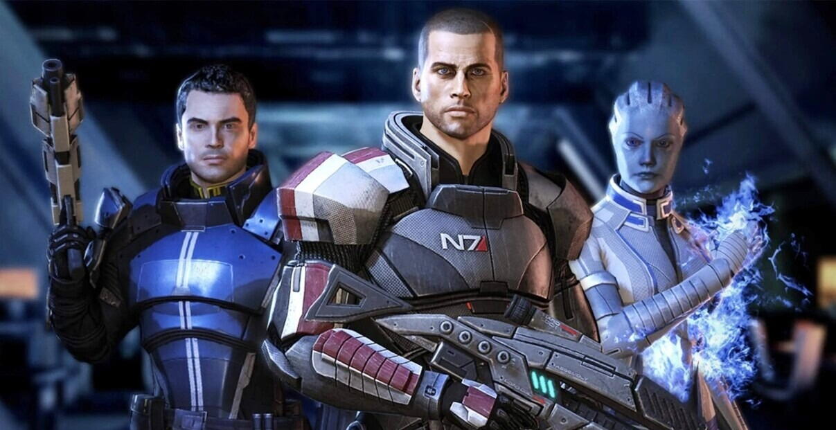 games that deserve movies and shows - MASS EFFECT