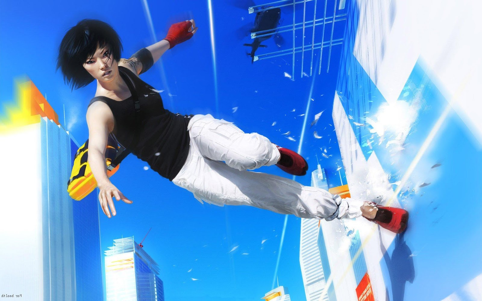 games that deserve movies and shows - MIRROR'S EDGE