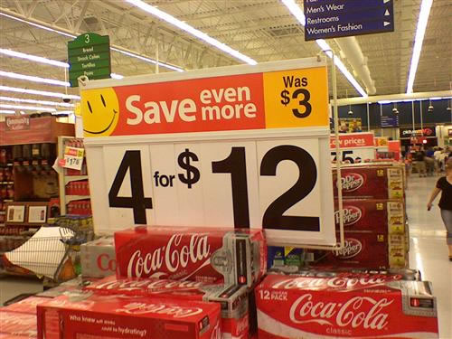 The people at Wal-Mart are so intelligent.
