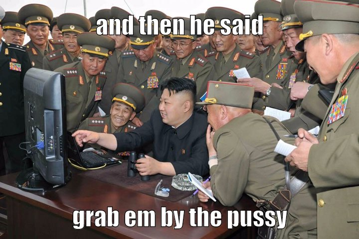 And then he said...