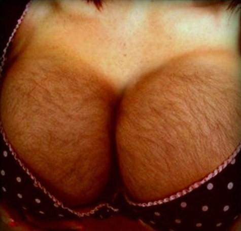 Hairy boobs