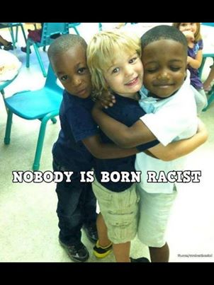 Goes double for me. Im one of the biggest violators when it comes to racism. I was very moved by this photo. Gonna try to change my ways.