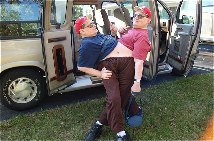 Now 57, Ronnie and Donnie are the worlds oldest conjoined twins and have amazed the medic world by living so long.