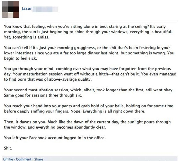 32 Of The Best Facebook Posts 2012 Gallery Ebaum S World Funny Happy Birthday Images