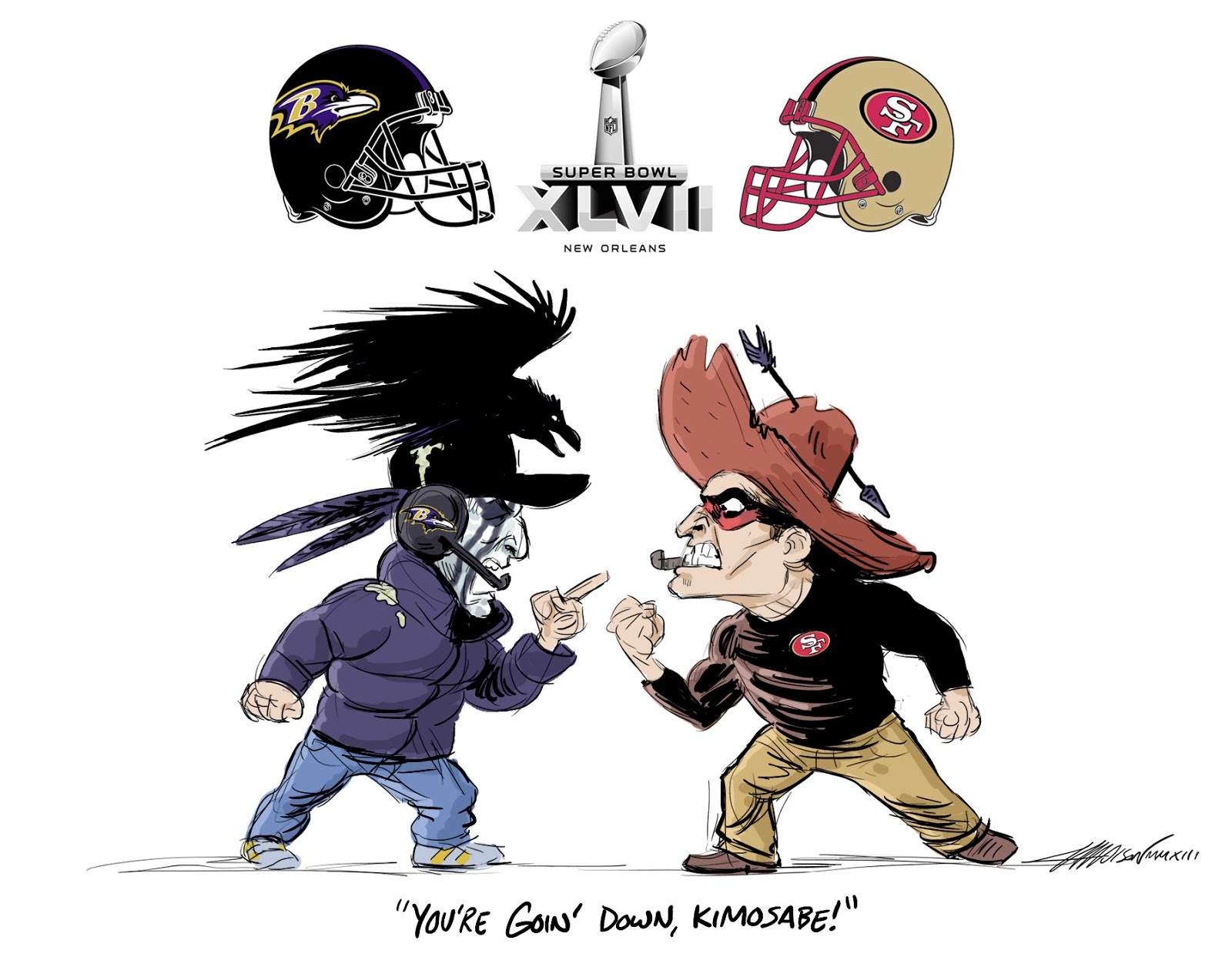 A Pixar Animator Sketches The Nfl Season Gallery Ebaums World
