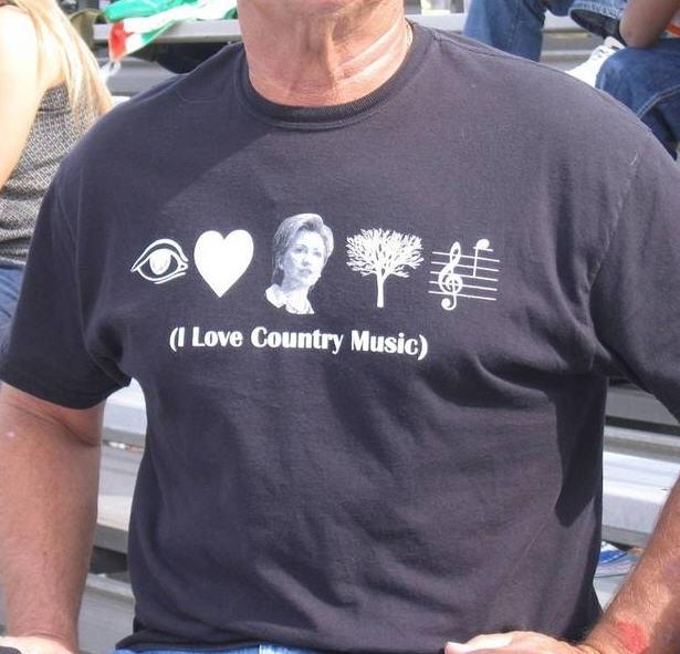 Hilarious political t-shirt.