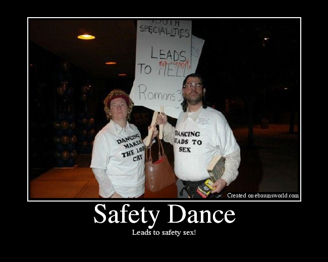Leads to safety sex!