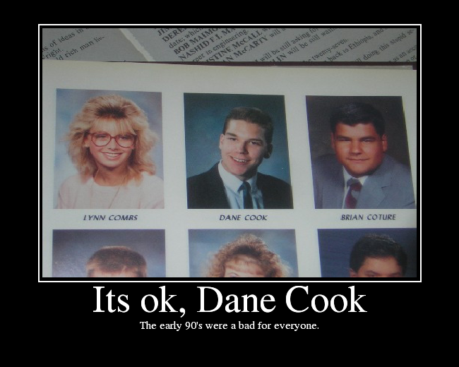 Dane Cooks High School Year Book picture