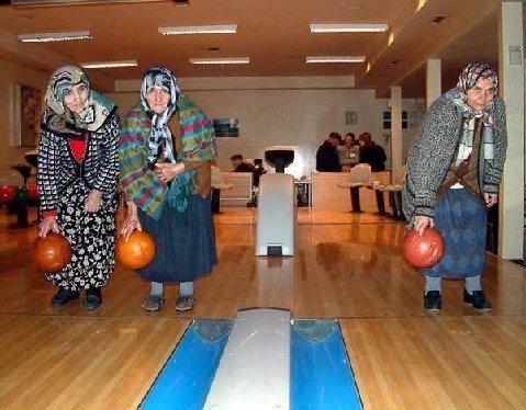 I give you the Polish Olympic Bowling team. Greatest bowlers in the world