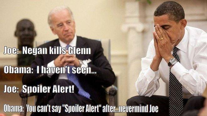 Joe talk TWD