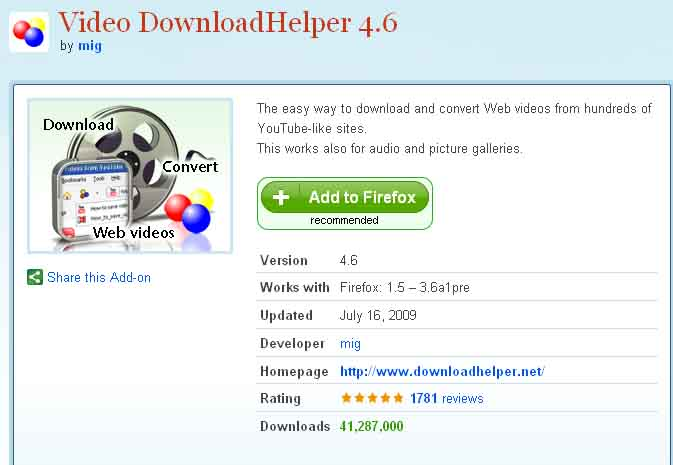 Downloadhelper coapp uninstall | [SOLVED] Install Converter for