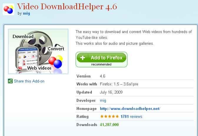 video downloadhelper 7.3.5 licence key