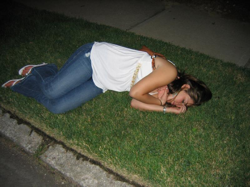 More Passed Out Party Girls - Gallery   eBaums World