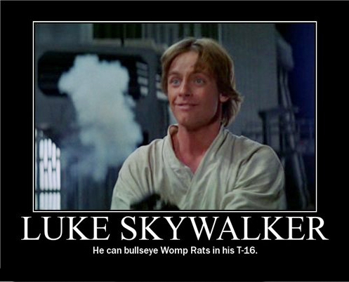 Luke Skywalker Picture Ebaum S World The dialogue george lucas wrote for the original star wars is famously wooden. funny pictures funny videos ebaum s world
