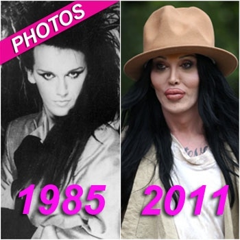 Google Pete Burns from the band Dead or Alive