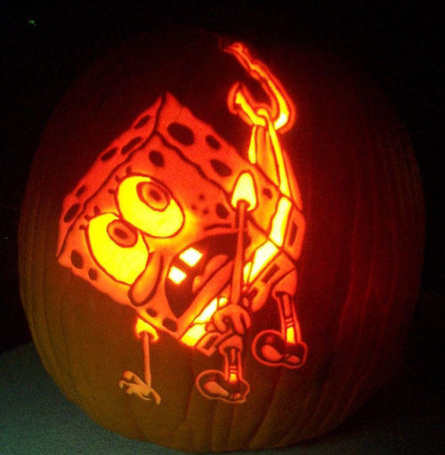 26 super awesome cartoon pumpkin carvings gallery ebaums world