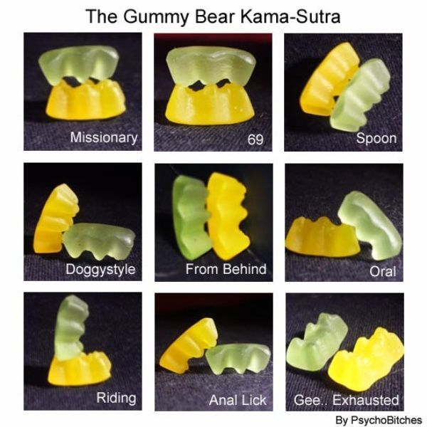 Gummy sex lessons