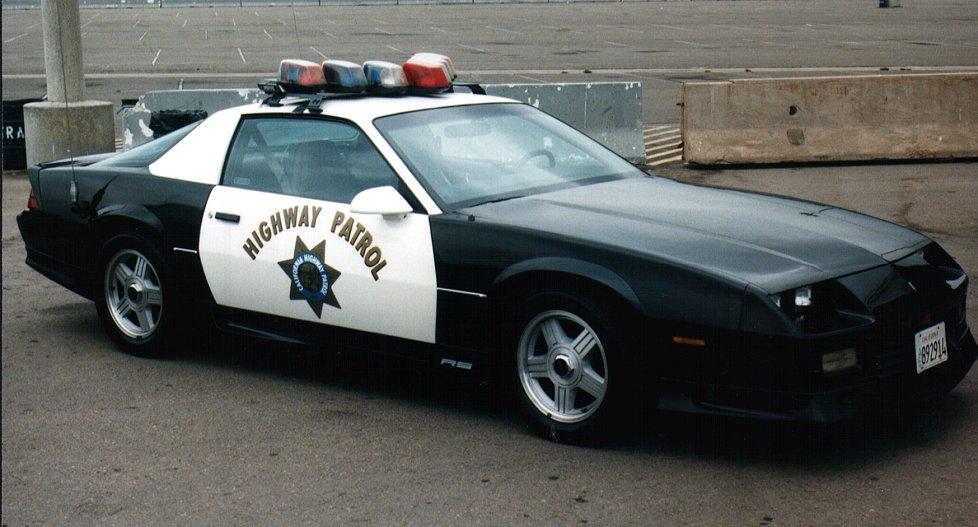 Badass police car