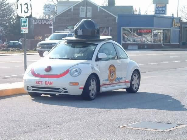 Punch Buggy Car >> Volkswagen Beetle Punch Buggy Police Car Gallery