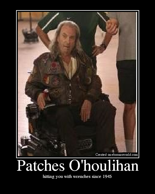 Image result for patches o'houlihan