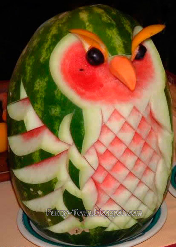 Watermelon carvings you need to try this summer gallery