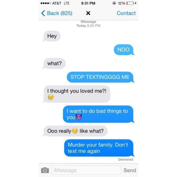 33 Funniest Responses To Ex Texts - Funny Gallery | eBaum's World
