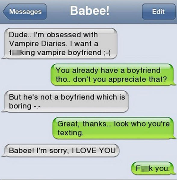 33 Funniest Responses To Ex Texts - Funny Gallery | EBaum ...