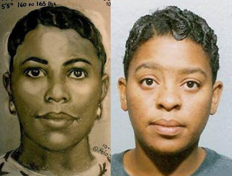 How police artist determine facial description #4