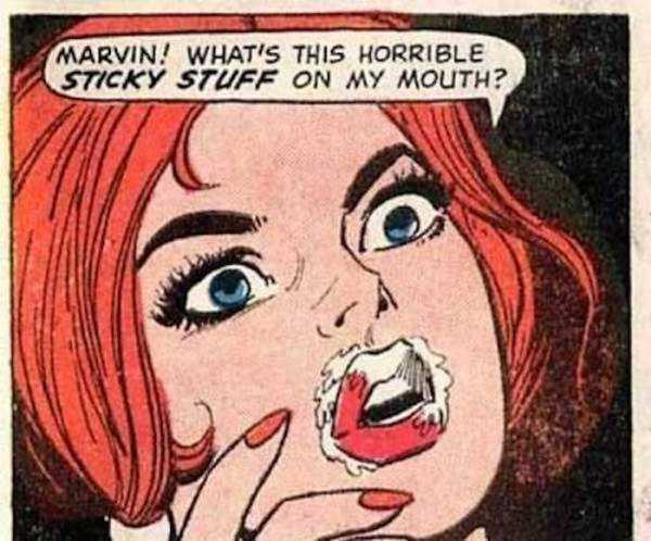 Accidental Sexual Innuendo In Classic Comics - Facepalm