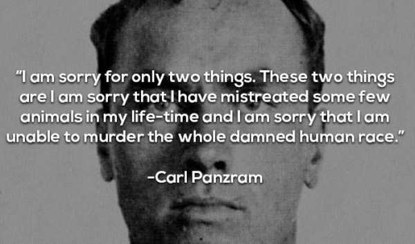 14 Of The Creepiest Quotes From Infamous Serial Killers