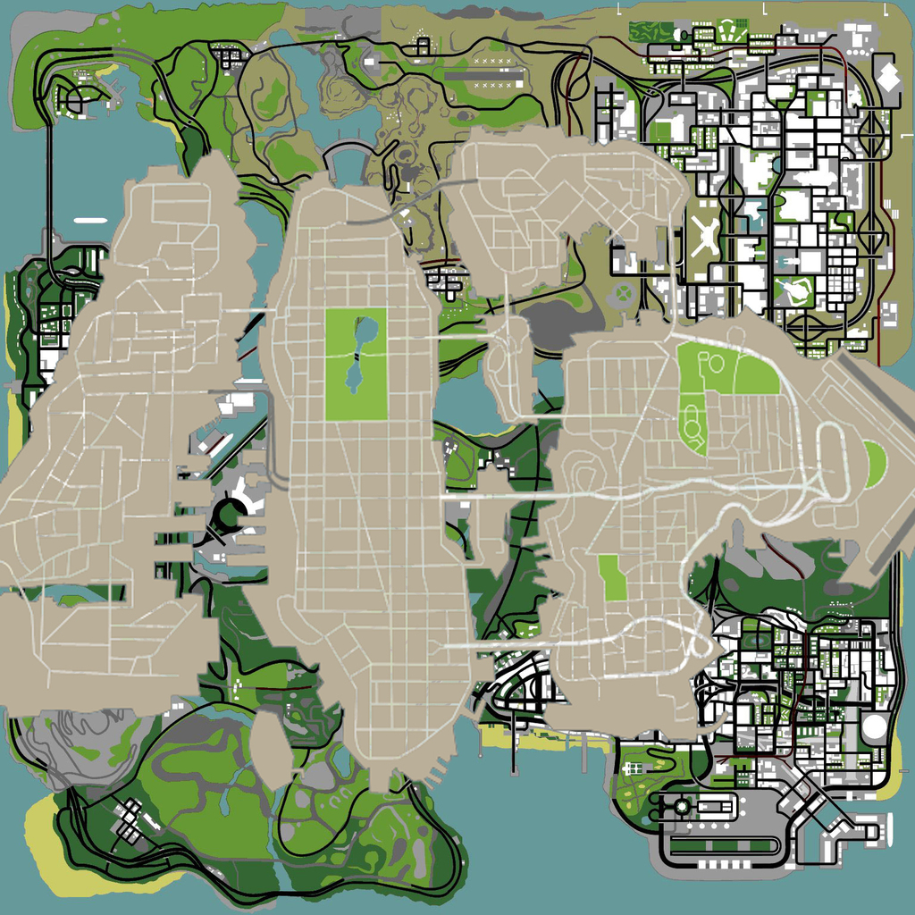 GTA 4 vs San Andreas map - Picture | eBaum's World San Andreas Map on gta 4 map, vice city map, andreas fault map, san miguel map, west coast fault line map, doom map, san andres map, gta 2 map, san gorgonio map, gta 5 grove street map, san lorenzo valley map, liberty city map, gta 1 map, gta 3 map, calaveras county map, saints row map, gta v map, the golden compass map, city of san antonio map, grand theft auto iv map,