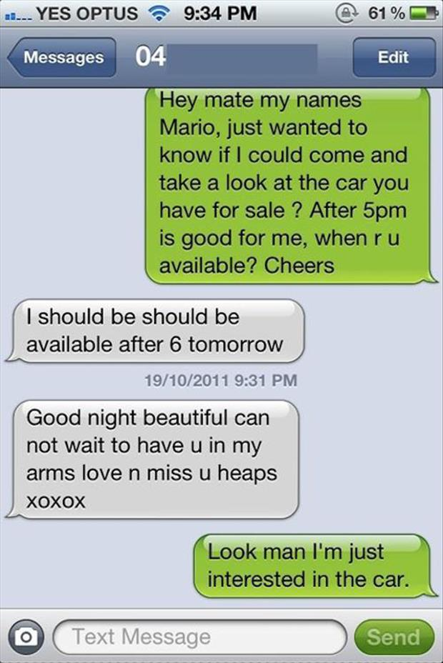 Dirty texts funny The 50