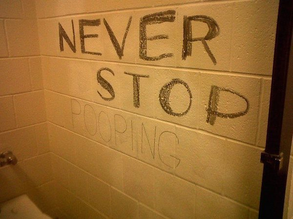 Funny things people write on bathroom walls gallery - Things to put on a wall ...