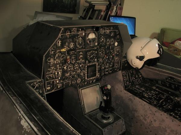Guy builds home made flight simulator - Gallery | eBaum's World