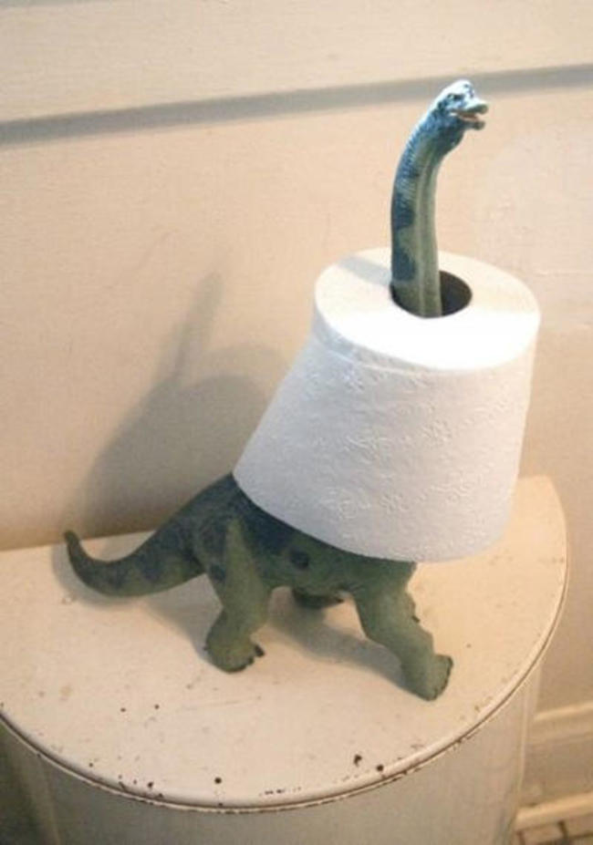 22 36 Funny Toilet Paper And Holder Designs