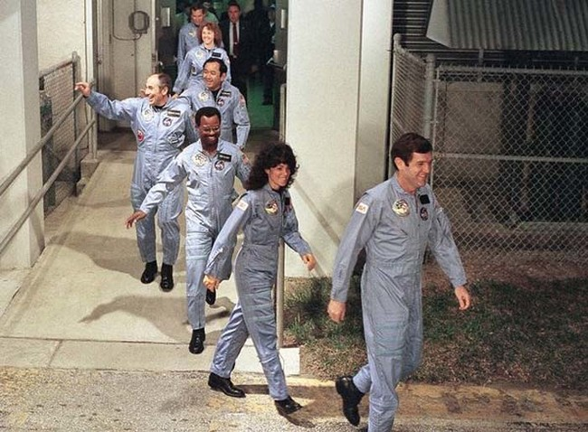 The crew of the Challenger.